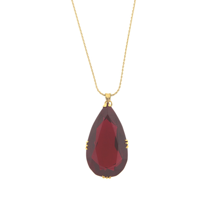 Ruby pendant necklace 51000 donegal jewelers antique ruby pendant necklace aloadofball Gallery